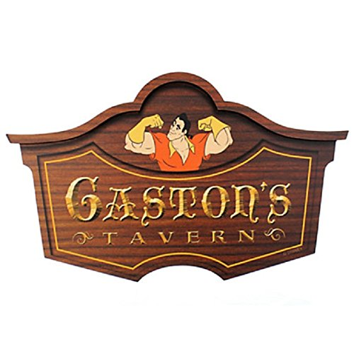 Disney Original Gastons Tavern Wall Sign, Walt Disney World Magic Kingdom