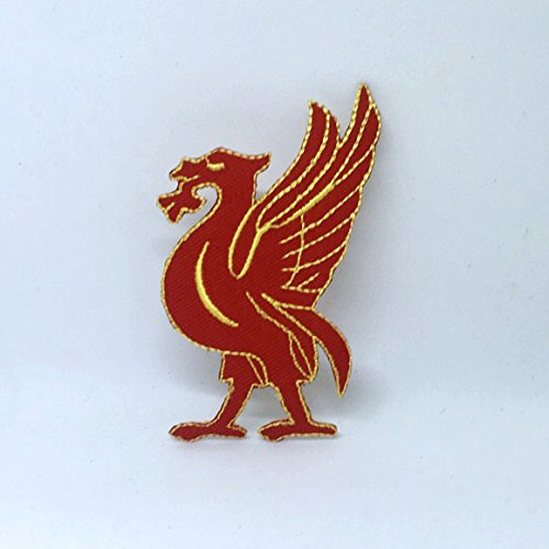 Liver Bird Liverpool Red Iron on Sew on Embroidered Patch
