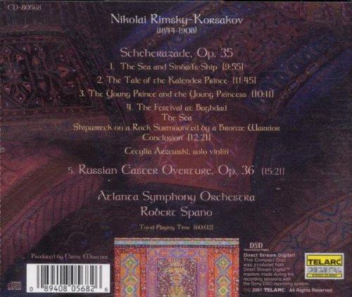 Scheherazade Op 35 / Russian Easter Overture Op 36 by SPANO,ROBERT
