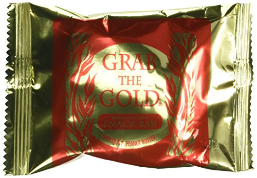 Grab The Gold Energy Snack Bars, Chocolate Peanut Butter, 24 Bars by Grab the Gold
