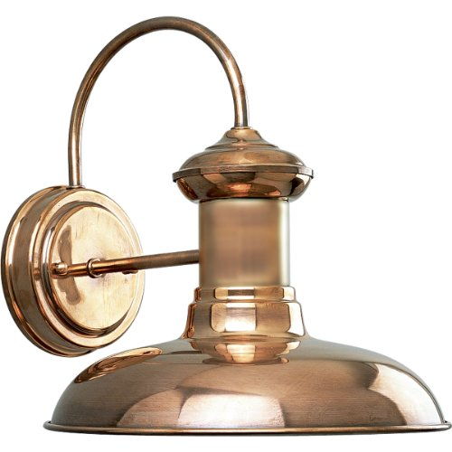 Copper Outdoor Wall Sconce Light in US - 1