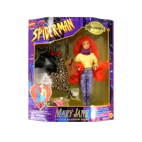 Toy Biz Spider-Man Animated Series Mary Jane (12 Inch Col...