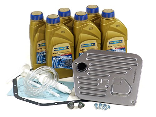 Blau F2A1302-A Automatic Transmission Fluid Filter Kit - E39 - Compatible with 1997-03 BMW 540i w/ 5 Speed Automatic ZF A5S -