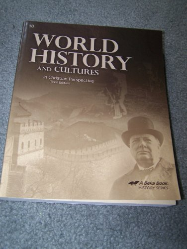 World History and Cultures (In Christian Perspective) for sale  Delivered anywhere in USA
