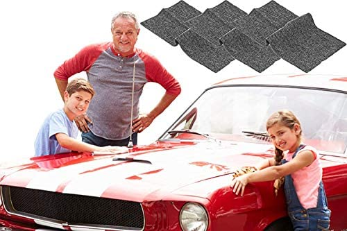 Nano Sparkle Cloth, Nano Magic Cloth Multipurpose Scratch Repair Cloth for Repairing Car Scratches and Surface Polishing Easily Repair Light Scratch Repair for Cars Safe All Paint Colors (A)