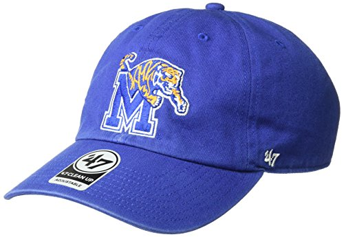Memphis Tigers Tigers - NCAA Memphis Tigers Clean Up Adjustable Hat, One Size, Royal