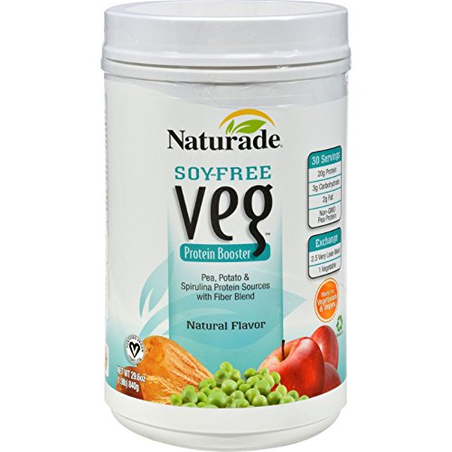 Naturade Veg Protein Booster Soy Free Natural - 32 oz