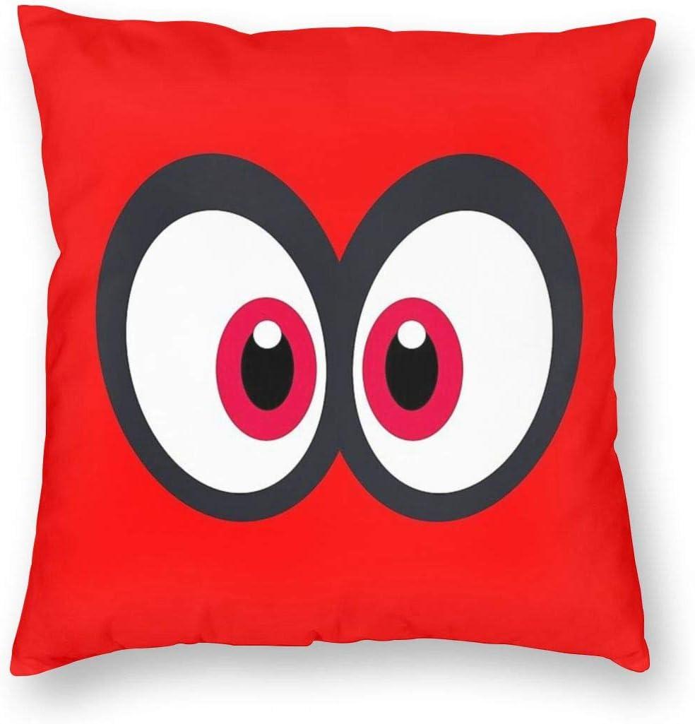 Amazon Com Mabel Cappy Super Mario Odyssey Square Pillowcase