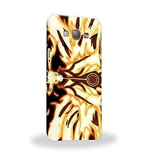 Case88 Premium Designs Naruto Naruto Nine-Tailed Beast Mode Carcasa/Funda dura para el Samsung Galaxy A8