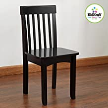 KidKraft Avalon Chair for Children-Black