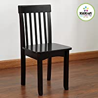 KidKraft Avalon Chair For Children - Black