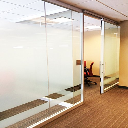 Office Window Clings : Coavas office window film privacy non adhesive