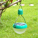 Ideapro Solar Lights Outdoor Garden 7 LED lights Folding Portable Tent Waterproof Camping Lantern Light Outdoor Hanging Lights for Climbing,Night Fishing,Outdoor Camping