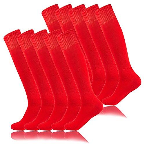 Cheerleader Christmas Gifts - Halloween Red Baseball Tube socks,Women's Over