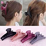 Limited time price of a bath to wash hair clip clip hairpin shatterproof showers dish made hair accessories adult female headdress for women girl lady