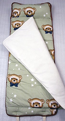 - SoHo My Cuddly Bears Nap Mat for Toddler, Rollable