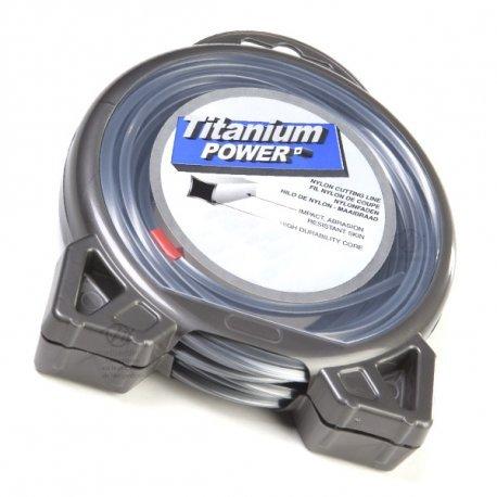 Inalámbrico Titanium 3,5 mm x 6 m. Cuadrado. Materiales. Blister ...