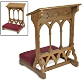 Oakwood Padded Prayer Kneeler Home or Church Sanctuary Meditation Furniture by 1home ♐ Chairs ListChairs