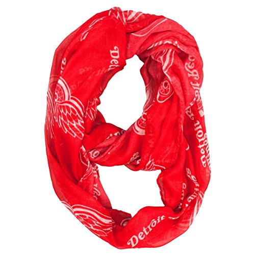 NHL Detroit Red Wings  Sheer Infinity Scarf
