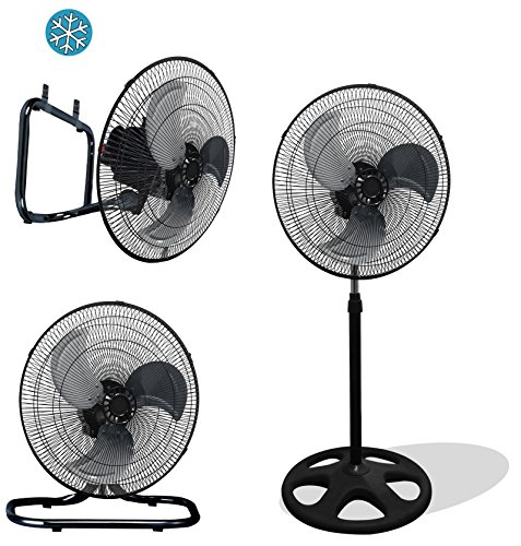 Premium Large High Velocity Industrial Floor Fan 18