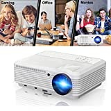 """200"""" Home Theater Projector 1080p 720p, Video Projector Full HD 3900 Lumens 50,000hrs"""