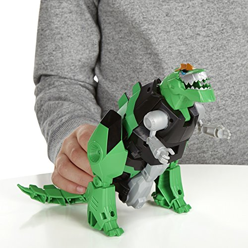 Transformers Robots in Disguise 3-Step Changers Grimlock Figure Hasbro B0994AS0