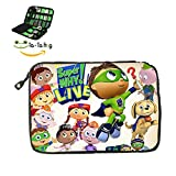SSAGE-TOP SuperWhy Logo Electronics Accessories Bag / Electronic Accessories Travel Bag