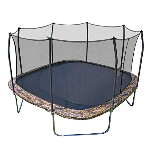 Skywalker 14-Foot Square Trampoline and Enclosure with Spring Pad