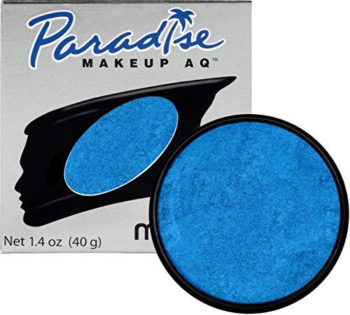 - Mehron Makeup Paradise Makeup AQ Face & Body Paint (1.4 oz) (Brillant Azur Dark Blue)