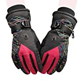 Best Fashion Shop Climbing Gloves - Woman Waterproof Windproof Adjustable Winter Warm Reflective Cycling Review