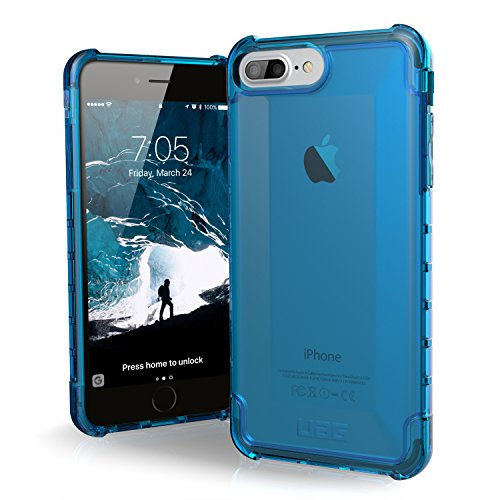 UAG iPhone 8 Plus/iPhone 7 Plus/iPhone 6s Plus [5.5-inch Screen] Plyo Feather-Light Rugged [Glacier] Military Drop Tested iPhone Case