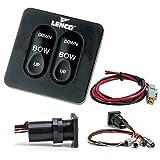 Lenco 15169-001 Switch Kit, Standard Integrated, Single