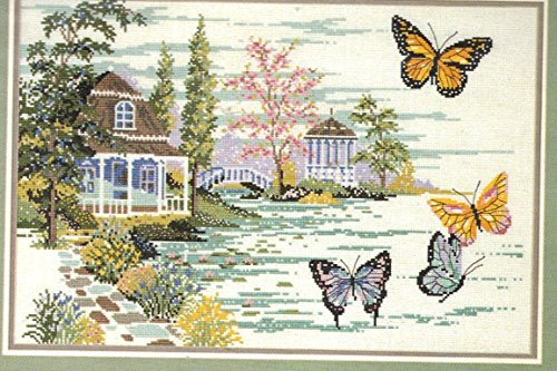 Summer Retreat - #321-220 - One Counted Cross Stitch Pattern ()