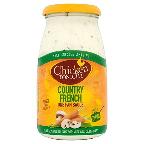 Country Vegetable Chicken (Chicken Tonight Country French Sauce - 500g)