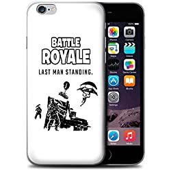 Stuff4® Phone Case/Cover for Apple iPhone 6S / Last Man Standing Design/FN Battle Royale Collection