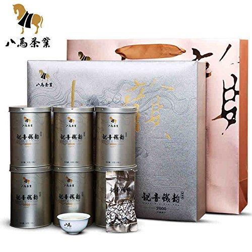 Bama tea Anxi Tieguanying tea Qingxiang Tikuanyin tea 252g 八马茶业安溪铁观音 特级清香2000 by Yichang Yaxian Food LTD.