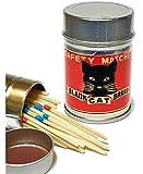レトロラベル缶マッチ・猫シリーズ001