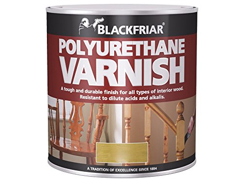 Blackfriar BKFPCGV250 Polyurethane Varnish P99, 250 ml, Clear Gloss Toolbank