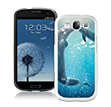 Customized Samsung Galaxy S3 Case Design with Dolphin Tale White Case