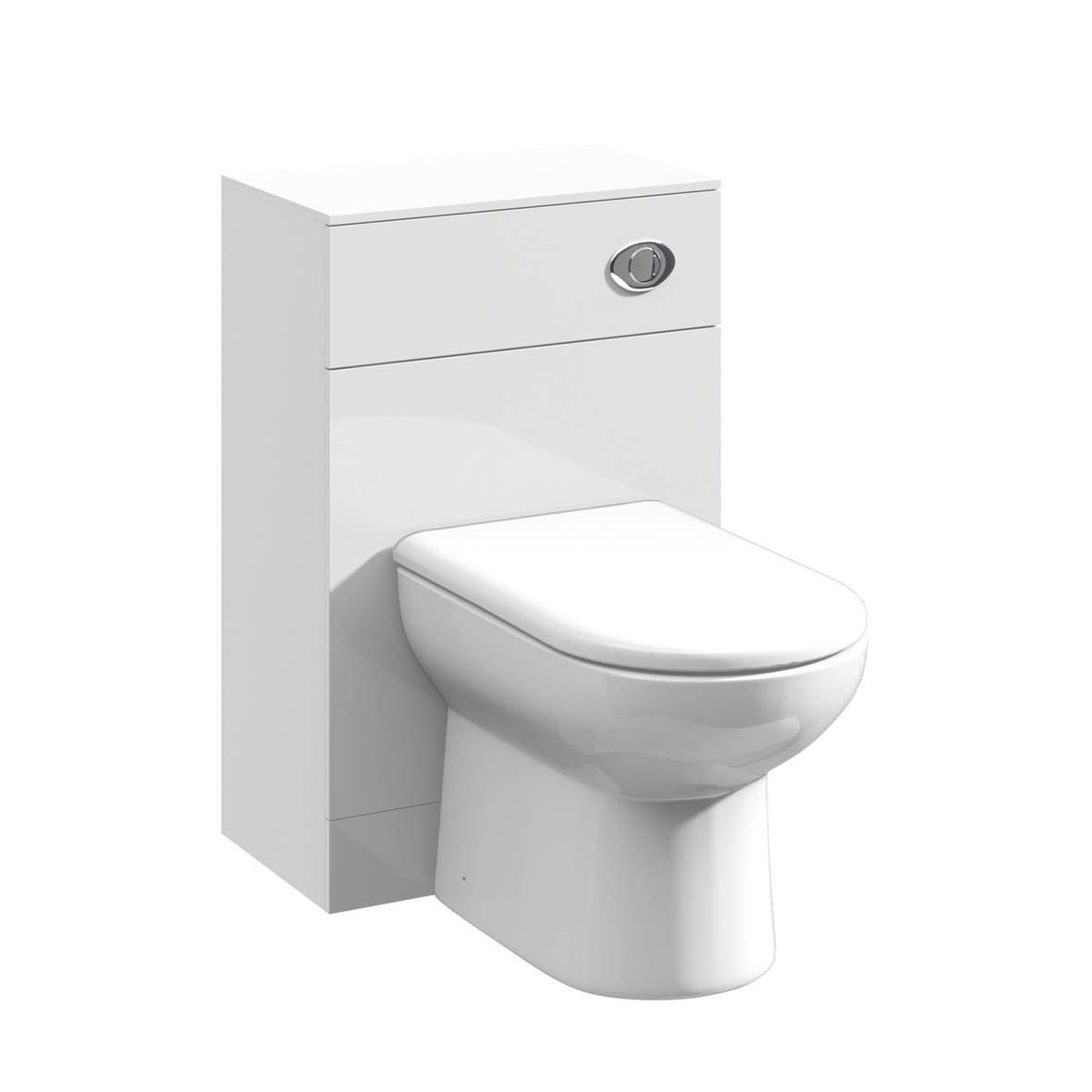 950mm Modular High Gloss White Bathroom Combination Vanity Basin ...