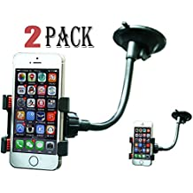 2 Pack Universal Mount Adapter,iBrabe Holder for Smart Phones,such as: iPhone