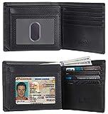 NapaWalli RFID Blocking Trifold Bifold Mens Wallet 18 Slots Extra...