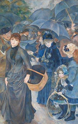 Pierre-Auguste Renoir - The Umbrellas, Size 14x24 inch, Poster art print wall décor