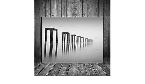 NIMCG Cuadro en Lienzo Cuadros Pintura Abstracta Impresiones ...
