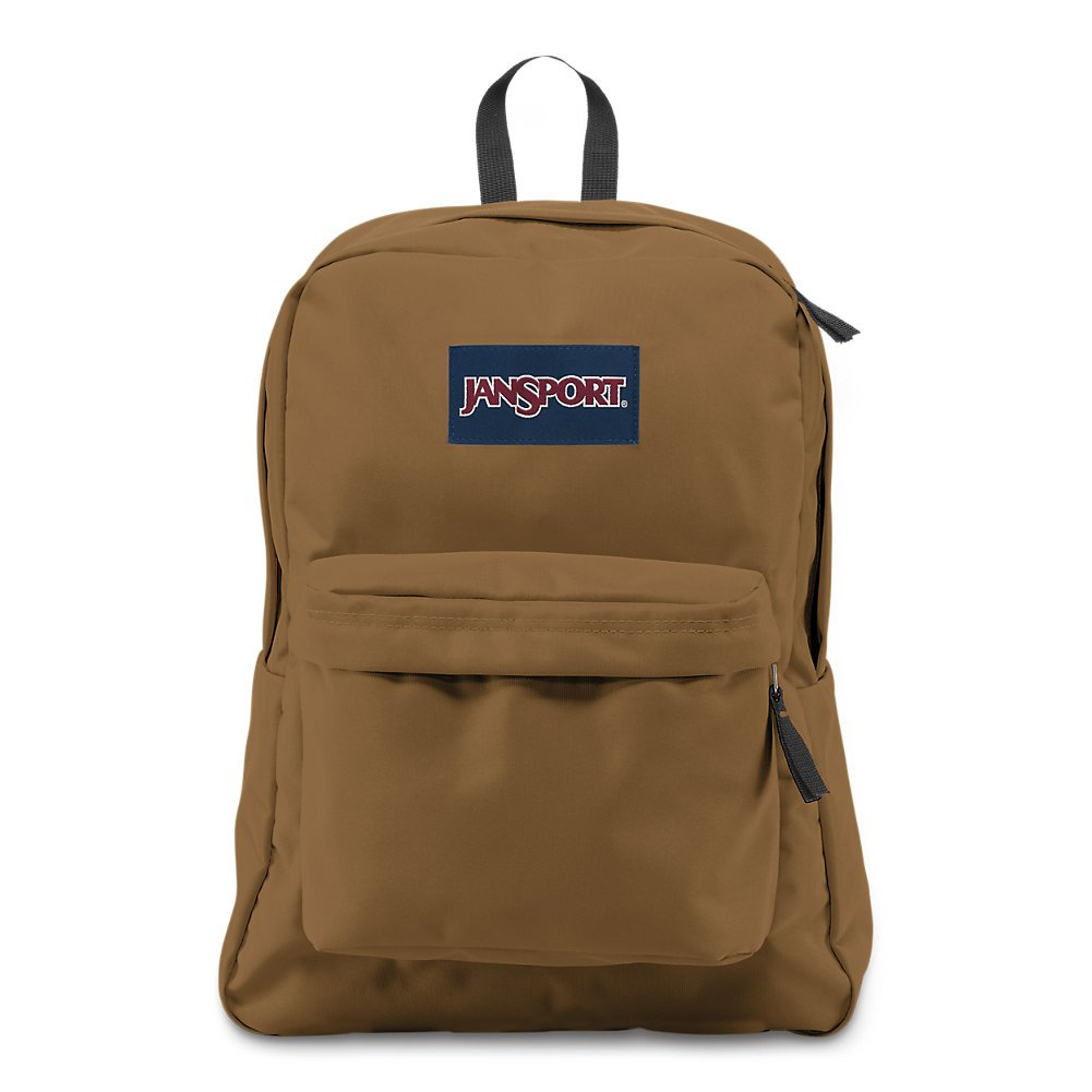 JanSport Superbreak Backpack - Carpenter Brown - Classic, Ultralight