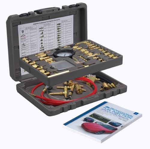 OTC 6550PRO Professional Master Fuel Injection Service Kit (Fuel Cleaner Kit Injection)