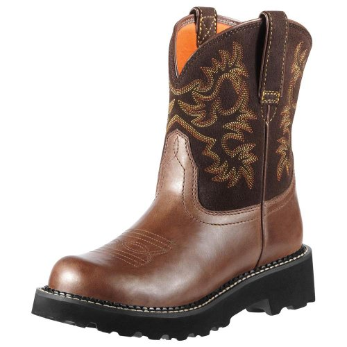 Fatbaby Women's Western Ariat Rebel Cowboy Boot Heritage Brown S5waqa6v