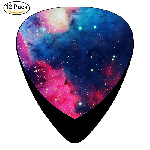 Ibm Lock (STREMUSIC Galaxy Sky Celluloid Electric Guitar Picks 12-pack Plectrums For Bass Music Tool)