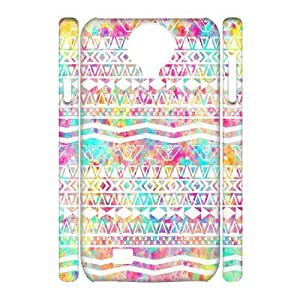 C-EUR Cell phone case Aztec Tribal Hard 3D Case For Samsung Galaxy S4 i9500