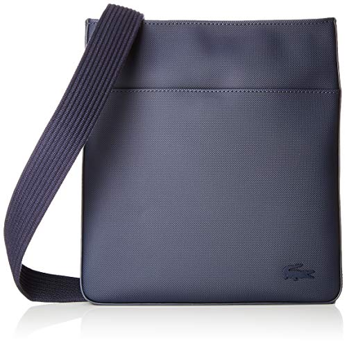 Lacoste Mens Petit Pique Flat Bag - Peacoat Navy for sale  Delivered anywhere in Canada